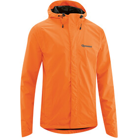 Gonso Save Light Rain Jacket Men red orange